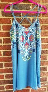 Sequin Hearts Sun Dress (Lined)